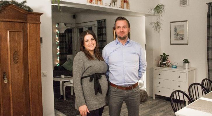 Juha Mutikaisen ja Jessica Alanderin perheen kotiin ILMAKAS™